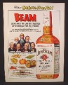 Magazine Ad for Jim Beam Kentucky Bourbon Whiskey, Ripley's Believe It Or Not, 1976