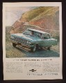 Magazine Ad for Chevrolet Chevelle Malibu Sport Coupe Car, Front & Side Views, 1964