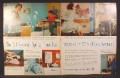 Magazine Ad for Bell Telephone System, Spring Phone Fair, Princess, Decorator Colors, 1961