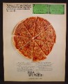 Magazine Ad for Pizza Hut Restaurants, We Serve The Family Circle, Coupons, 1970