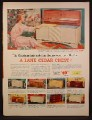 Magazine Ad For Lane Cedar Chest, 9 Models, Help Make Her Dreams Come True, 1953
