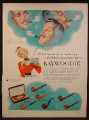 Magazine Ad For Kaywoodie White Briar Pipes, Pipe, 6 Models Pictured, 1953