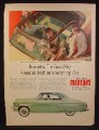 Magazine Ad For Mercury Sun Valley Car, Transparent Top, Green Top & Side Views, 1954