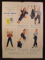 Magazine Ad For Blue Bell Clothing For Kids, Jeans & Jackets, 1955