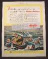 Magazine Ad For Martin Mariner Aircraft, Patrol Bomber Airplane, Flying Boat, WWII, 1945
