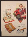 Magazine Ad For Dutch Masters Cigars, Fathers Day, Carton of 25, Box of 50, Glass Humidor, 1956