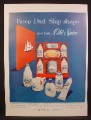Magazine Ad For Old Spice Gift Box for Fathers Day, Shulton, 1956