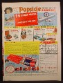 Magazine Ad For Popsicle Western Round-Up Contest, Dreamsicle, Creamsicle, Fudgsicle, 1956