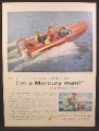 Magazine Ad For Mercury Outboard 60hp Mark 75, Roy Rogers & Dale Evans & 6 Kids, 1957