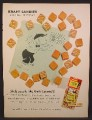 Magazine Ad For Kraft Dairy Fresh Caramels Candies, Bat Masterson TV Show Contest, 1959