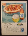 Magazine Ad For Pabst Blue ribbon Beer, Bowl of Stew, 1954