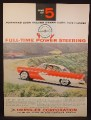 Magazine Ad For Plymouth Belvedere 4 Door Hardtop Sport Sedan Car, Red & White, 1956