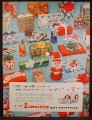 Magazine Ad For Dennison Gift Wrap, Wrapping, 1957