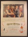 Magazine Ad For Old Crow Bourbon Whiskey, Henry Clay, Historical Illustration, 1957