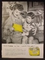 Magazine Ad For Western Union Telegrams, Bunnygram, Lucille Ball, Lucy, Celebrity, 1957