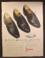 Magazine Ad For Jarman Dress Shoes For Men, Modern as American's New Jet Flagships, 1959