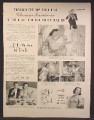 Magazine Ad For Formfit Life Bra Wardrobe, Glamour Insurance is The Right Bra, 1940