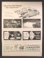 Magazine Ad For GE General Electric Mazda Auto Lamps for Cars, 1940