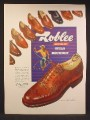 Magazine Ad For Roblee Dress Shoes for men, Style Roundup, 10 Styles Pictured, 1947