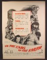 Magazine Ad For To The Ends Of The Earth Movie, Dick Powell, Signe Hasso, Poster, 1948