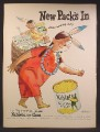 Magazine Ad For Green Giant Niblets Corn, From Hiawatha Lands, Native American Indian 1949