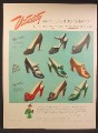 Magazine Ad For Vitality Ladies Shoes, Fashion, 9 Different Styles Models Pictured, 1949