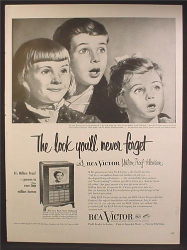Magazine Ad For RCA Victor Highland Television, TV, In Over 2 Million Homes, 1951