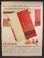 Magazine Ad For Childcraft Heritage Books, 15 Volumes, 1958