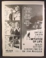 Magazine Ad For Imitation Of Life Movie, Lana Turner, John Gavin, Poster, 1959
