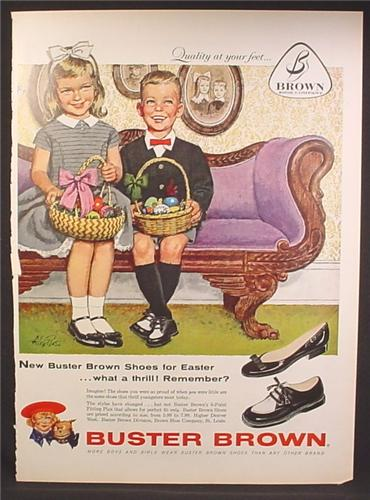 Buster Brown Shoes Logo