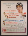 Magazine Ad For Thoroughly Modern Millie Movie, Julie Andrews, Mary Tyler Moore, Poster, 1967