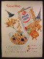 Magazine Ad For Post Sugar Crisp Cereal, 3 Bears Dressed In Halloween Costumes, 1955