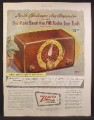 Magazine Ad For Zenith Major Model FM Radio, Most Sensitive FM Radio Ever Built, 1948