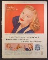 Magazine Ad For Lustre-Creme Shampoo, Lustre Creme, June Haver, Celebrity Endorsement, 1953