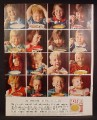 Magazine Ad For Lipton Soup, Our Best Friends and Severest Critics, 16 Little Kids Eating Soup, 1964