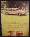 Magazine Ad For Oldsmobile Vista-Cruiser Station Wagon, Side View, Like in That 70's Show, 1964