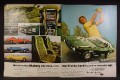 Magazine Ad For Ford Mustang, Interior Views, Sportsroof, Convertible, Hardtop, 1972