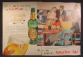 Magazine Ad For Ballantine Ale Brewer's Gold Beer, It's The Trend Friend, 1957, Double Page Ad