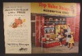 Magazine Ad For Top Value Stamps Redemption Store, Elephant Mascot, 1956, Double Page Ad