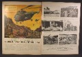 Magazine Ad For United Aircraft Corporation, Sikorsky Flying Truck Helicopter, 1952, Double Page Ad