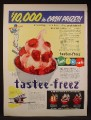 Magazine Ad For Tastee-Freez Ice Cream Parlors, Special Of The Month, Tastee Freeze, 1956