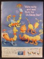Magazine Ad For Revell Dr Seuss Zoo Toys, Gowdy The Dowdy Grackle, Tingo The Noodle 1959