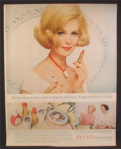 e92dc80cee44f Magazine Ad For Avon Cosmetics