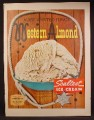 Magazine Ad For Sealtest Western Almond Ice Favor, Most Wanted Flavor, 1958