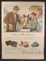 Magazine Ad For Stetson Hats, Men's Fashion, Get That Thoroughbred Look, 1947
