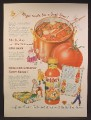Magazine Ad For Snider's Chili Sauce, If The Snider Folks Put It Up It Tastes Like Home, 1947