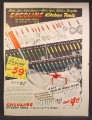 Magazine Ad For Eckoline Kitchen Tools, Handles in Colors, Red Green Blue Yellow, 1947
