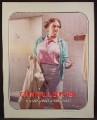 Magazine Ad For Altoids, Gumball Buster, Evil Looking Female Coach, Funny, 2004, 9 1/2 by 12