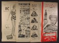 Lot of 4 Magazine Ads for RC Royal Crown Cola Soft Drink, 1940's and 1950's, 1/2 Page ads