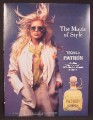 Magazine Ad For Patron Tequila, Sexy Victoria Silvstedt Playmate, 2001